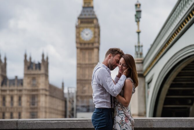 Patrick+Jessica//Intimate Elopement in London – Chapter II – the City