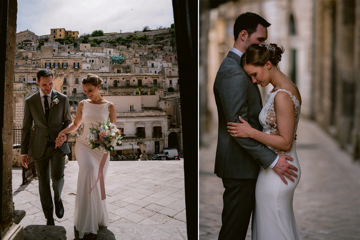 Sam and Adam, an intimate Canadian wedding in Sicily